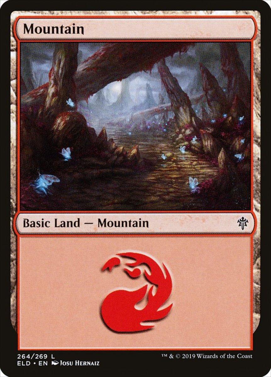Throne of Eldraine Mountain