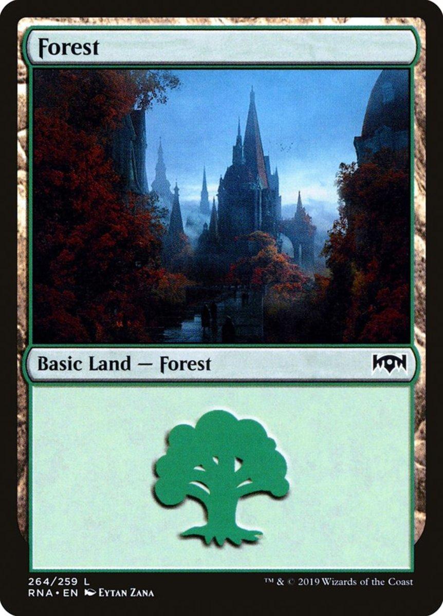 Ravnica Allegiance Forest