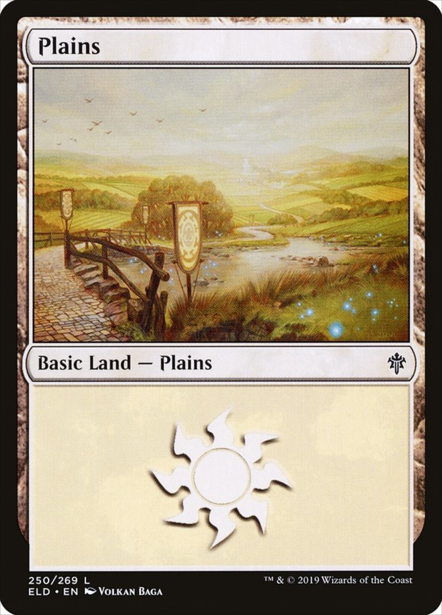 Throne of Eldraine Plains