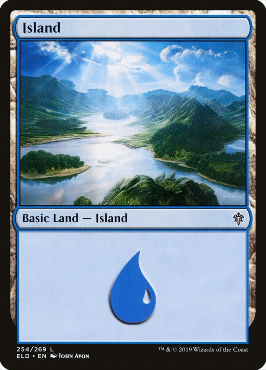 Throne of Eldraine Island