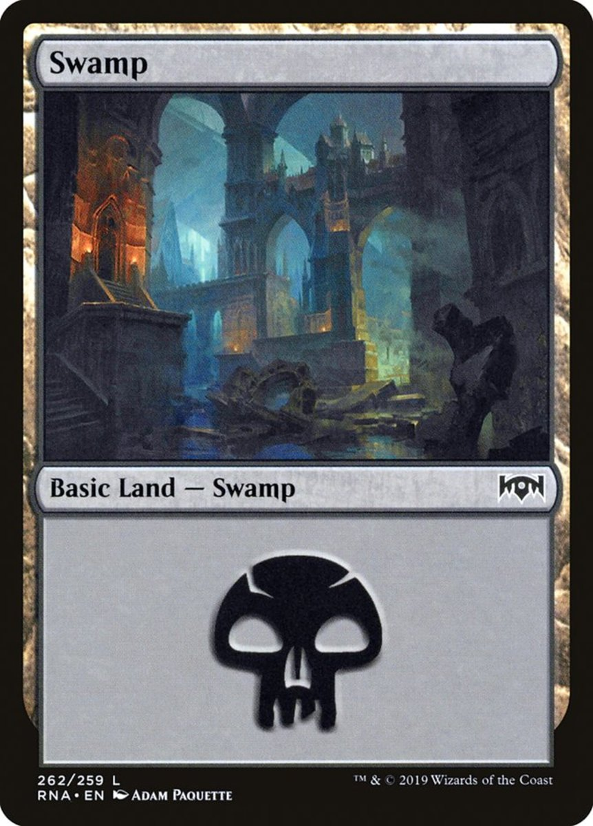 Ravnica Allegiance Swamp