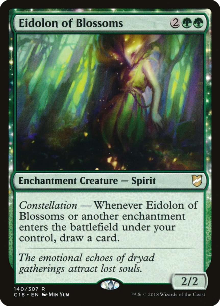 Eidolon of Blossoms mtg