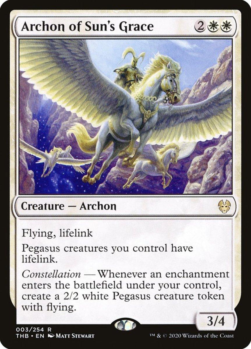 Archon of Sun's Grace mtg