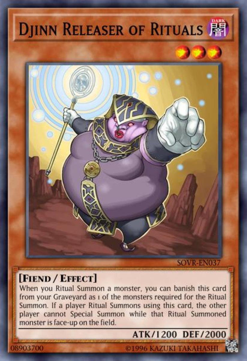 Djinn Releaser of Rituals
