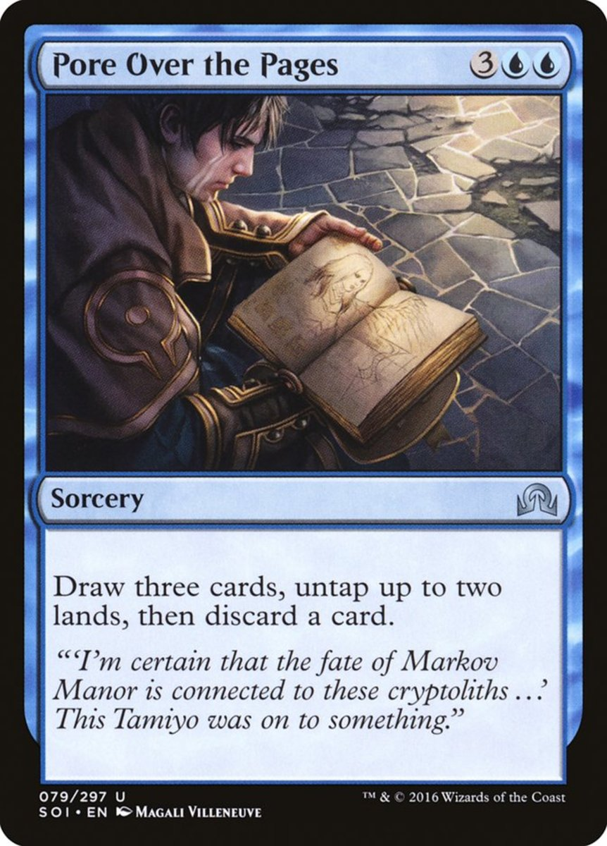 Pore Over the Pages mtg