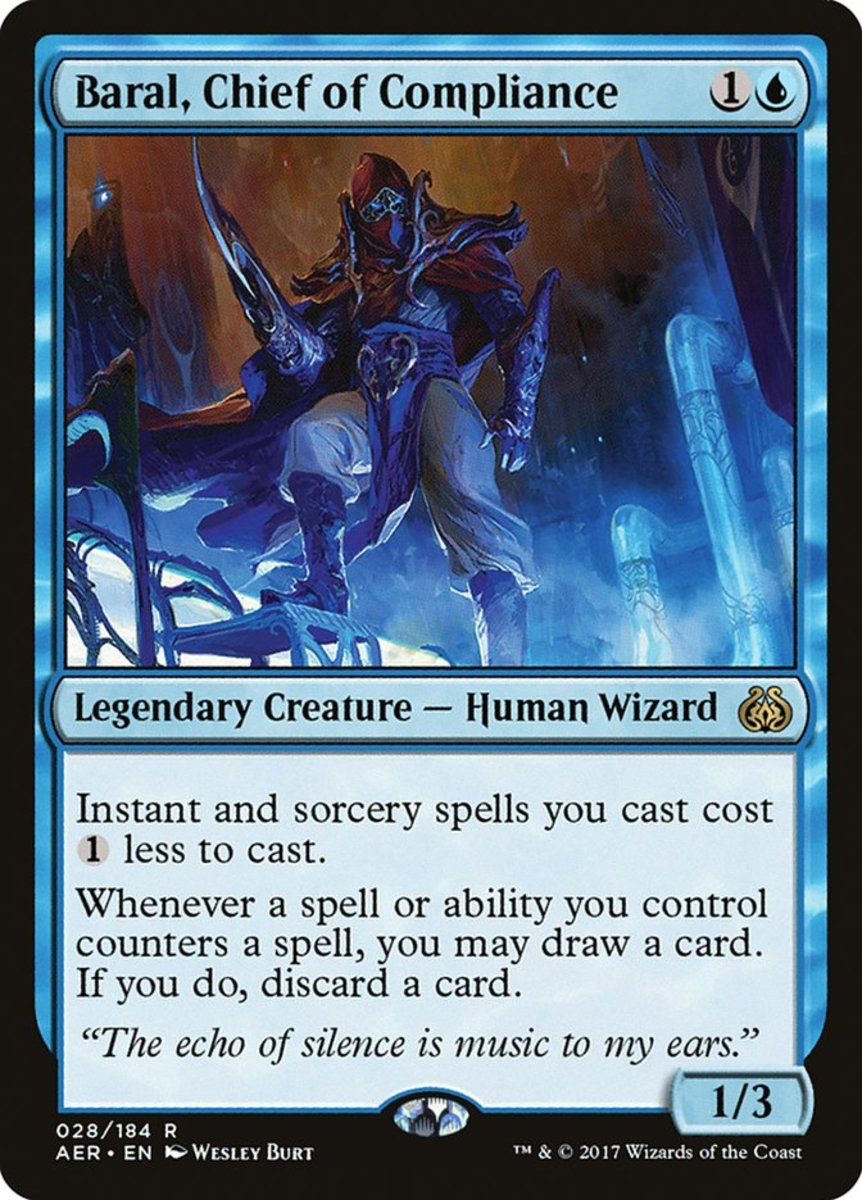"""Baral, Chief of Compliance"" Budget Mono-Blue Commander Deck"