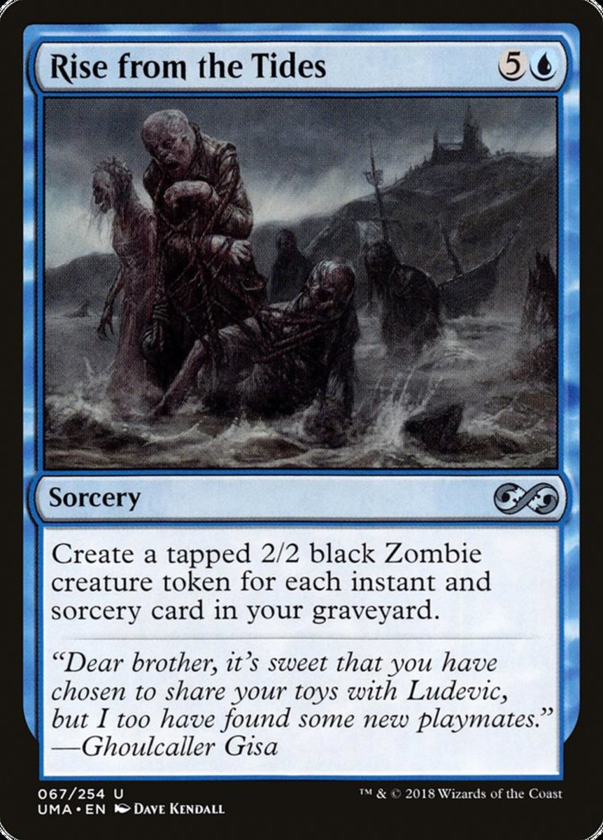 Rise from the Tides mtg