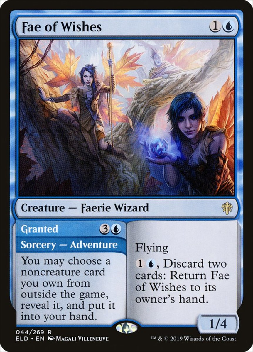 Fae of Wishes/Granted mtg