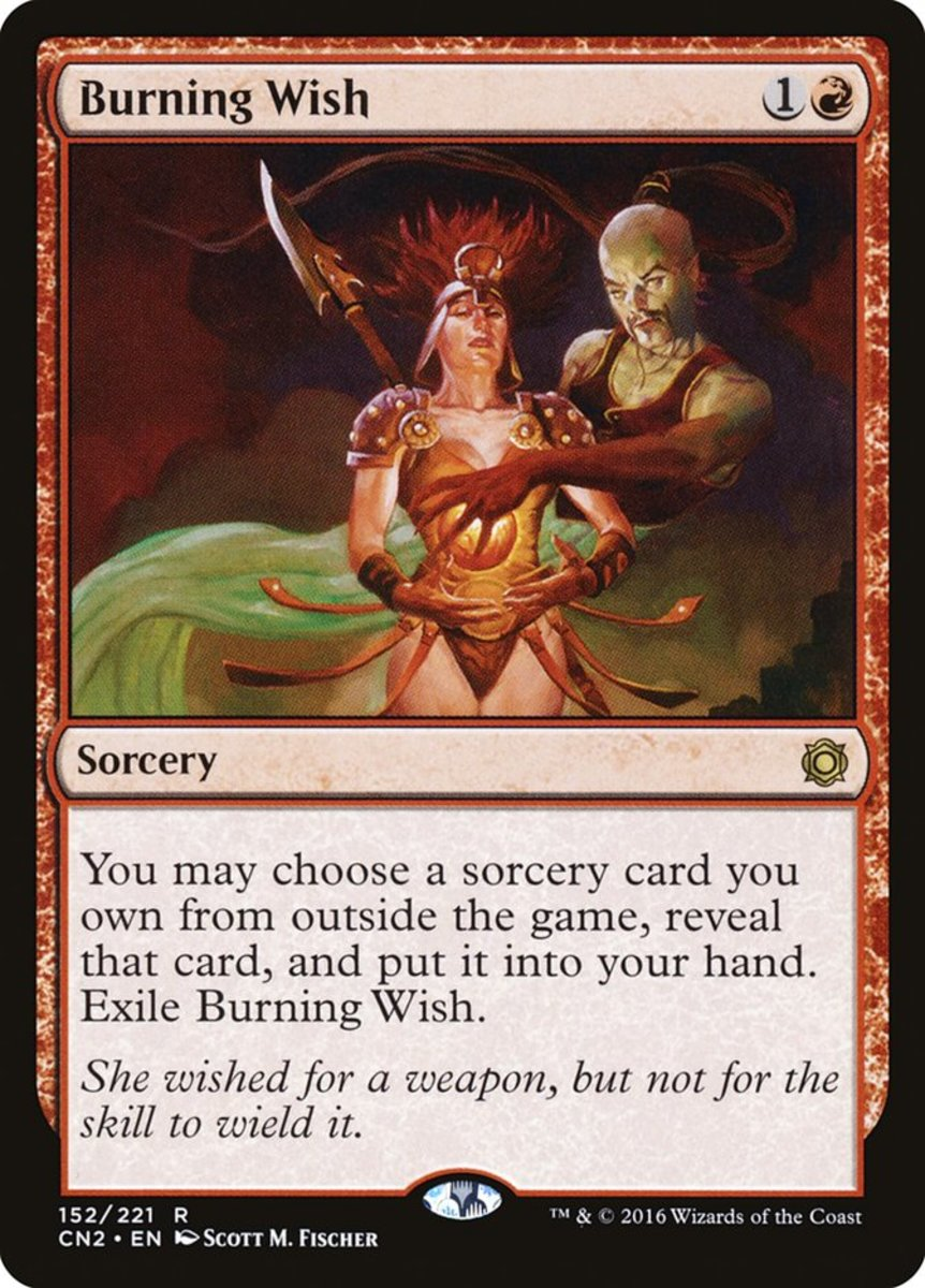 Burning Wish mtg