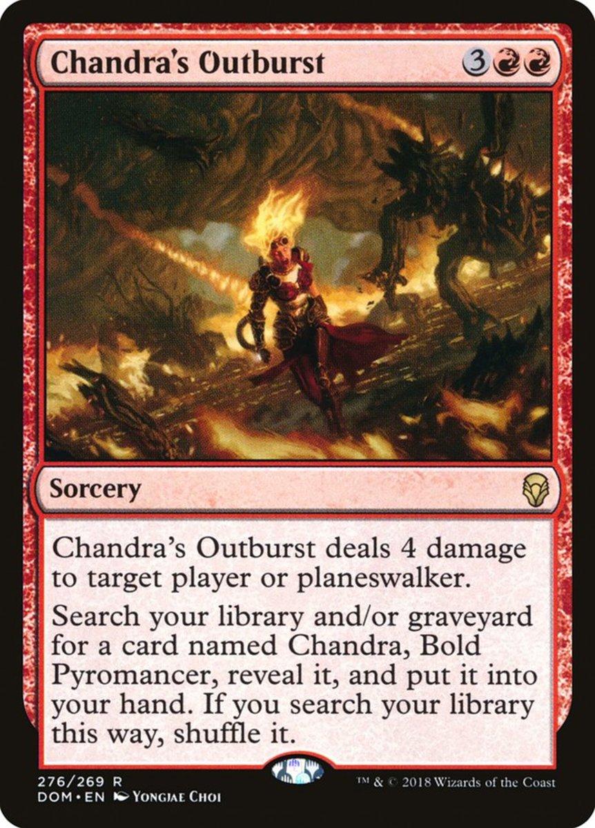 Chandra's Outburst mtg