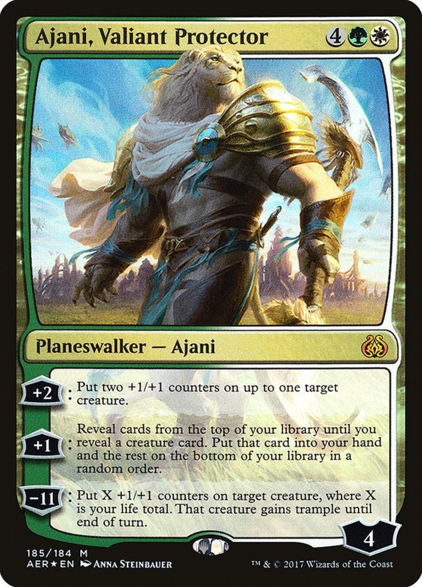 Top 10 Prebuilt Planeswalkers in Magic: The Gathering