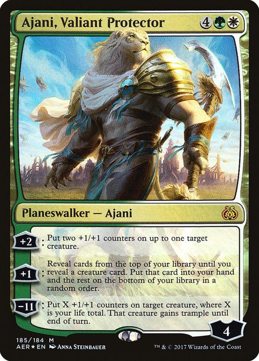 Ajani, Valiant Protector mtg