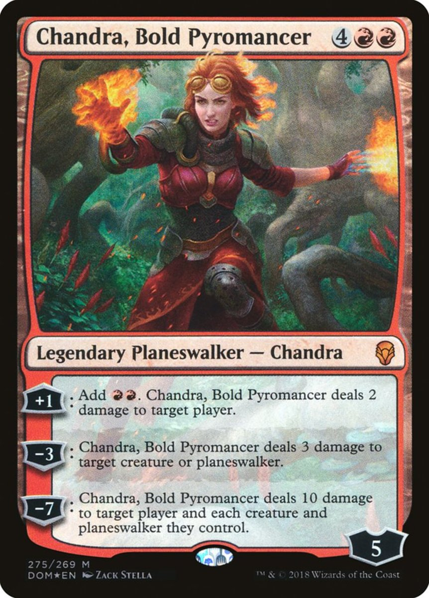Chandra, Bold Pyromancer mtg