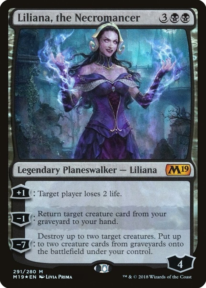Liliana, the Necromancer mtg