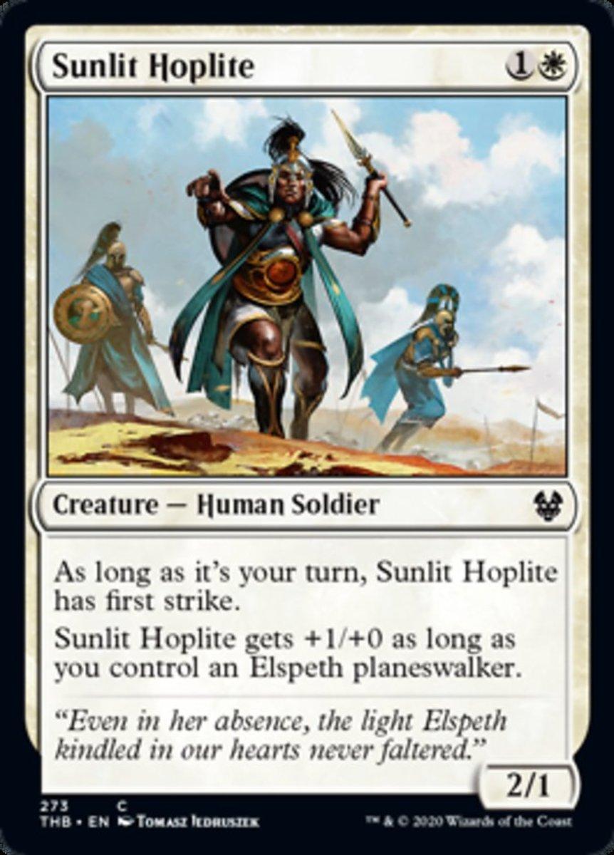 Sunlit Hoplite mtg