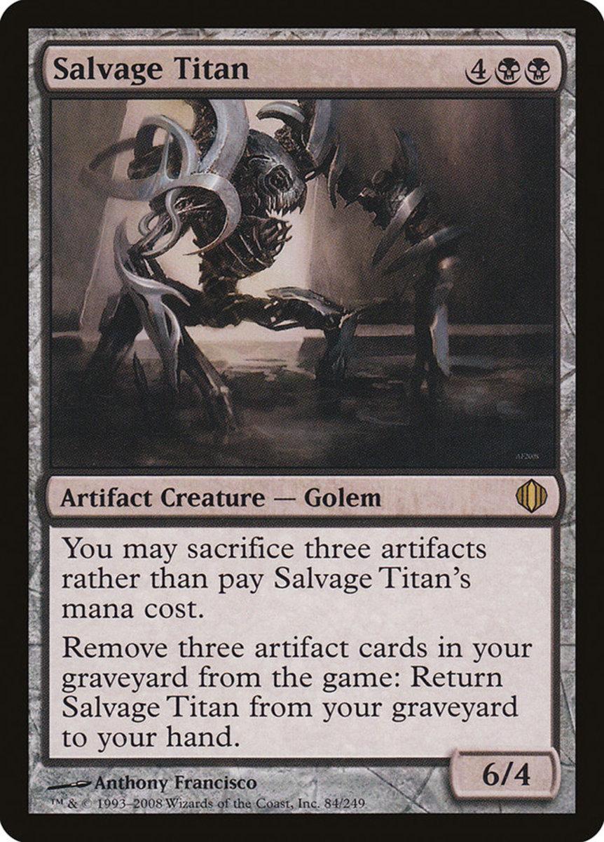 Salvage Titan mtg