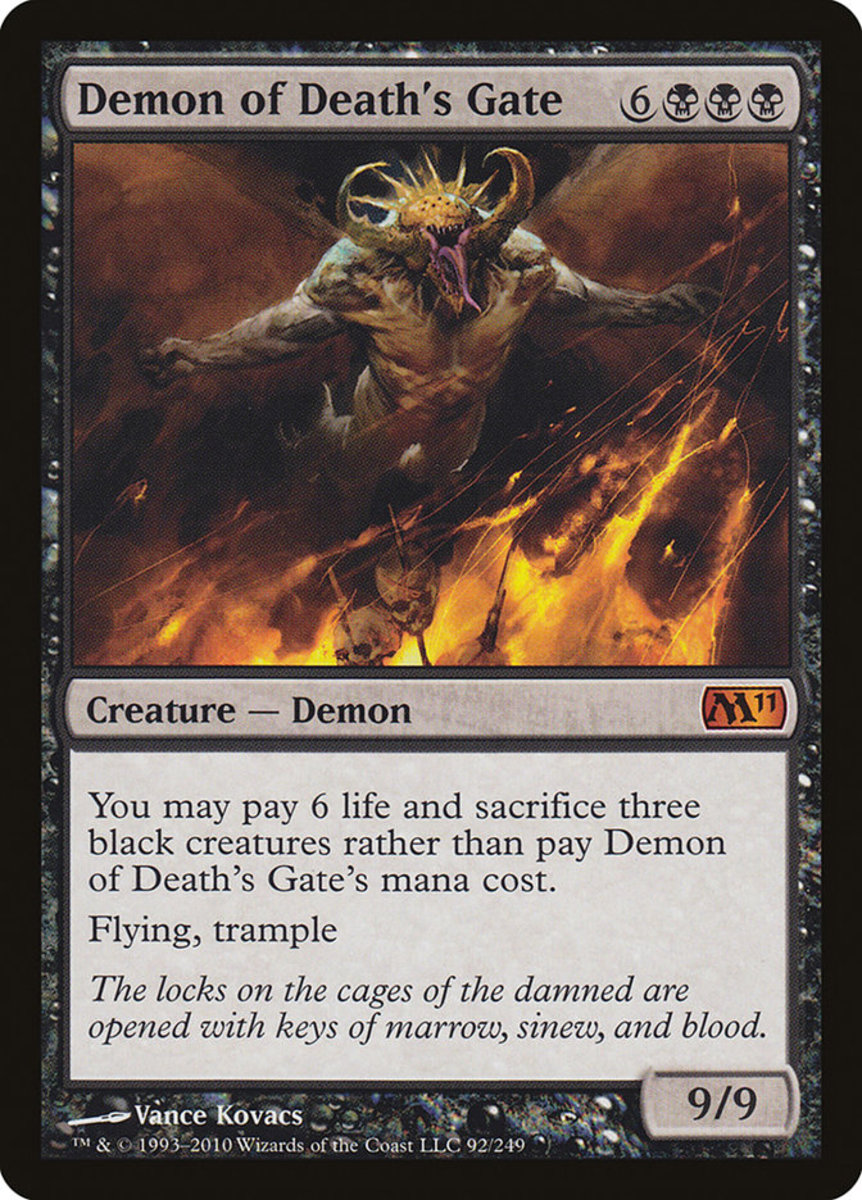 Demon of Death's Gate mtg