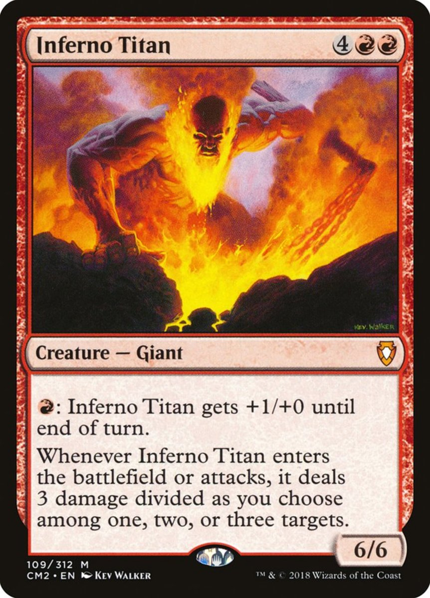Inferno Titan mtg