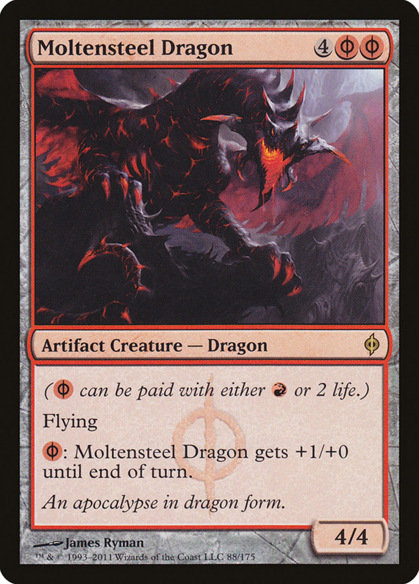 Moltensteel Dragon mtg