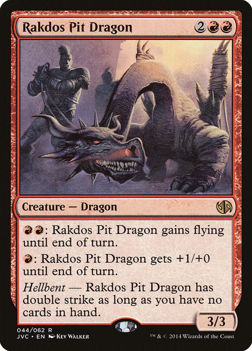 Rakdos Pit Dragon mtg