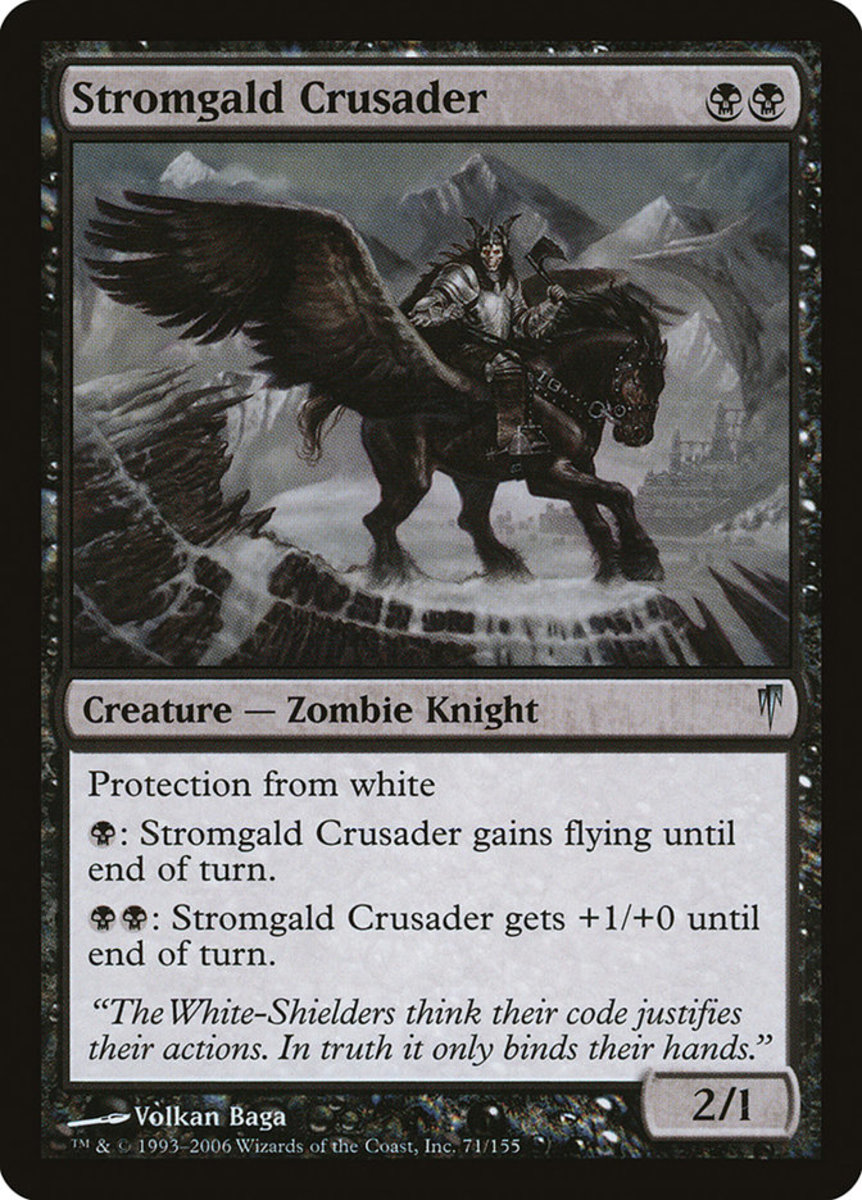Stromgald Crusader mtg