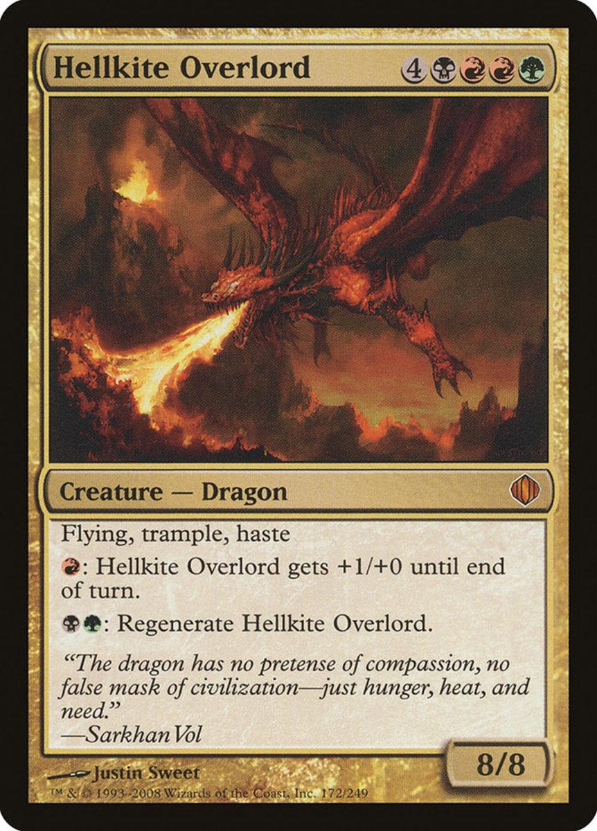 Hellkite Overlord mtg