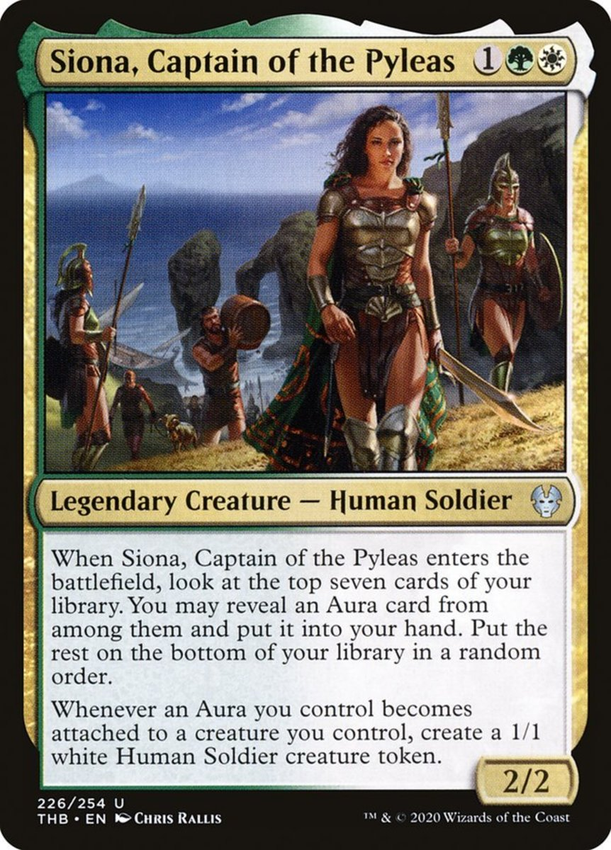 Siona, Captain of the Pyleas mtg