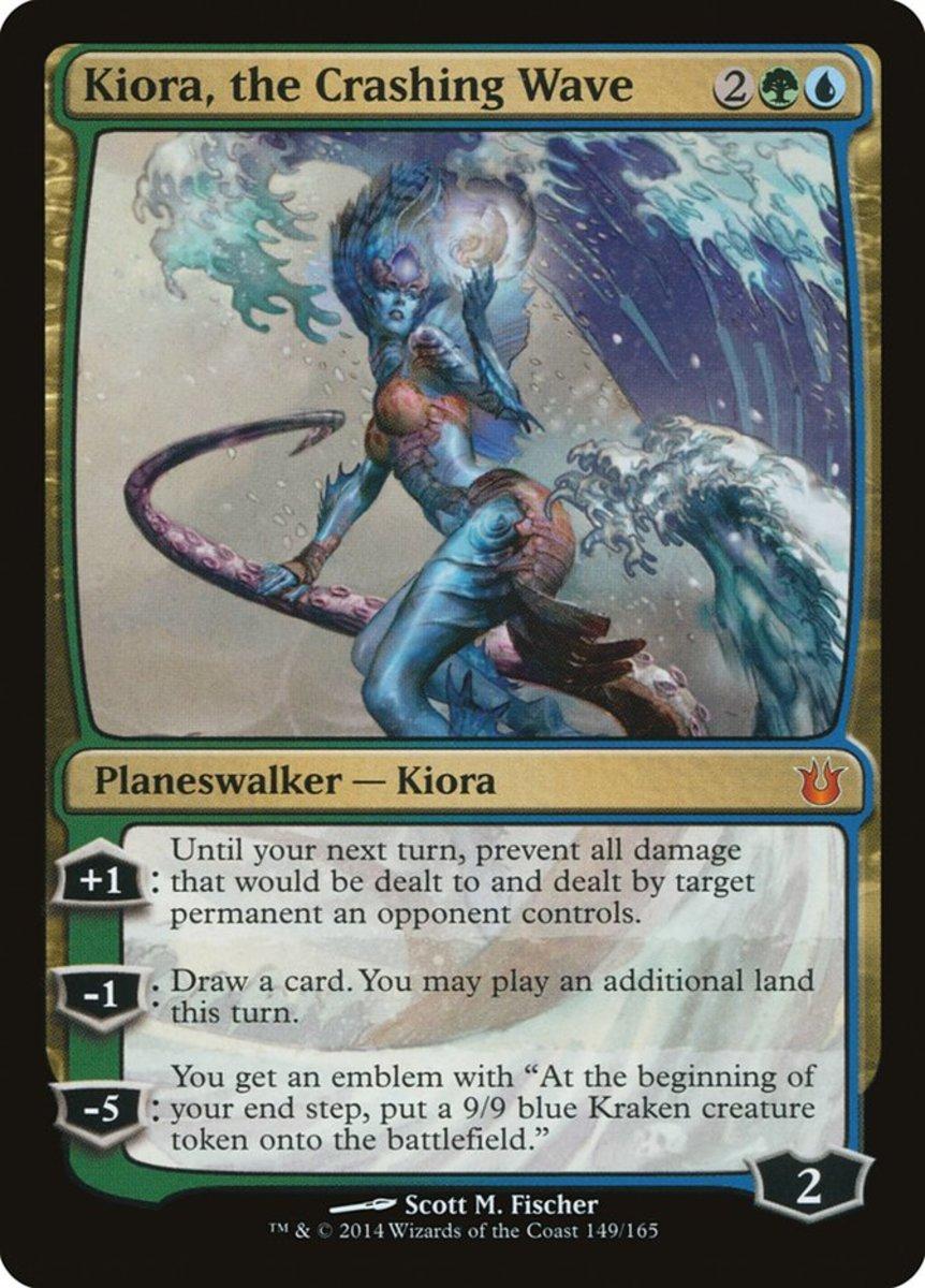 Kiora, the Crashing Wave mtg