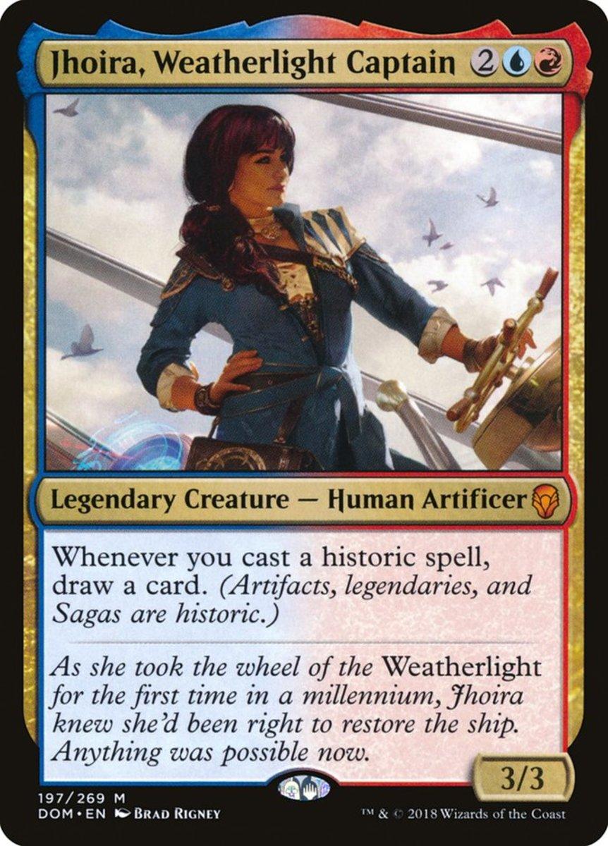 Jhoira, Weatherlight Captain mtg