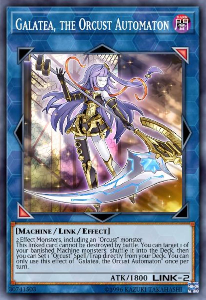Galatea, the Orcust Automaton