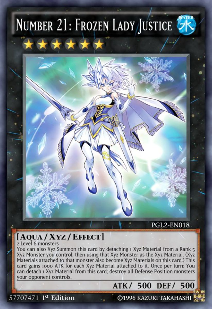 Number 21: Frozen Lady Justice