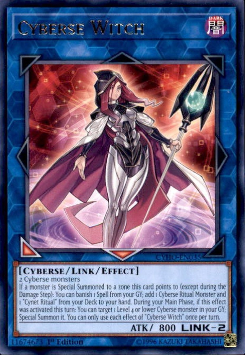 Cyberse Witch