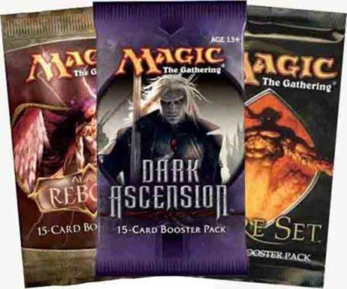 Magic booster packs