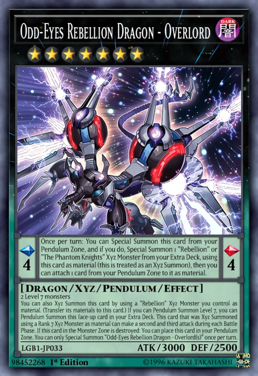 Odd-Eyes Rebellion Dragon - Overload