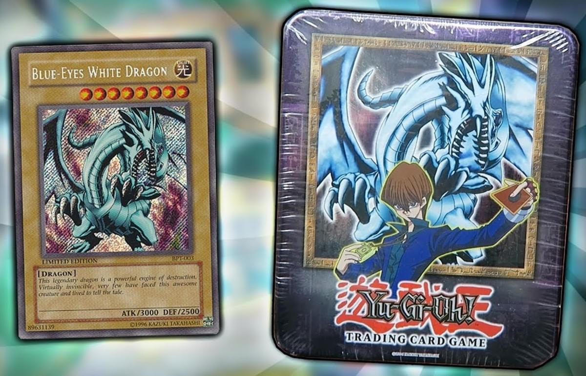 2002 Blue-Eyes White Dragon Tin