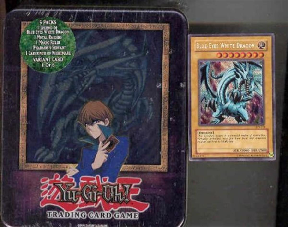 2003 Blue-Eyes White Dragon Tin