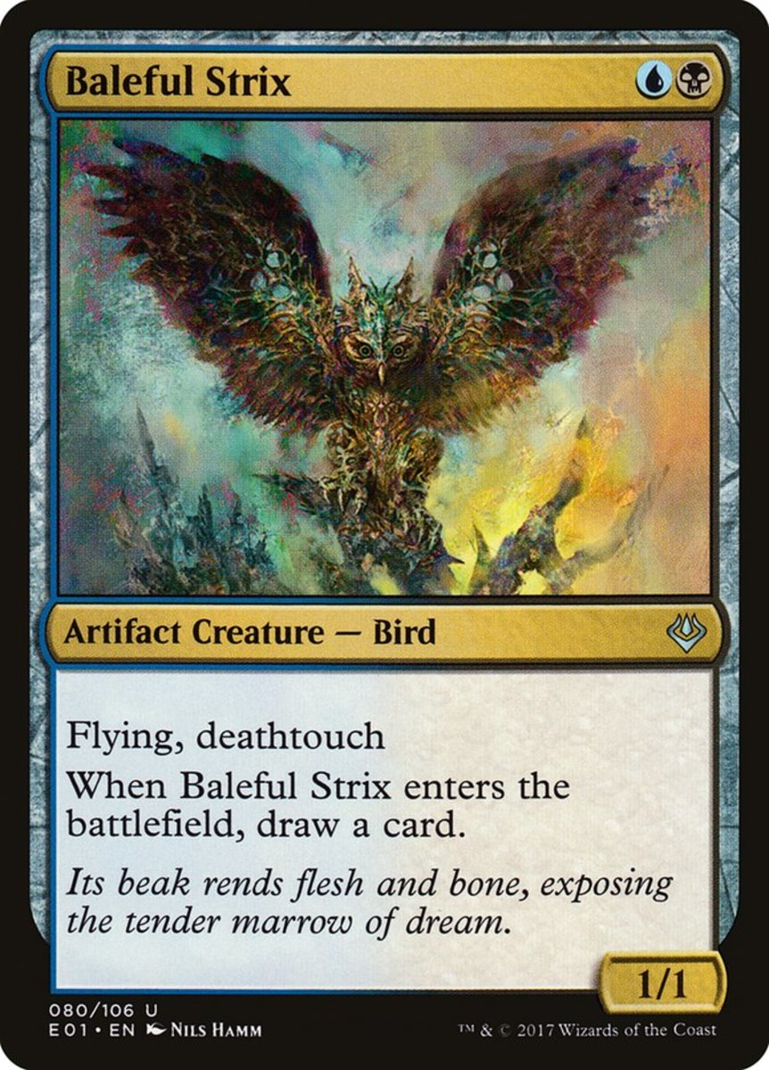 Baleful Strix mtg