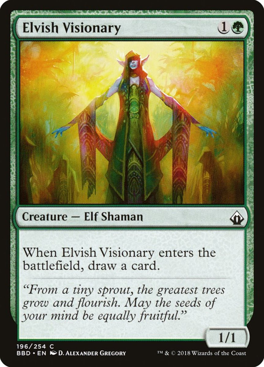 Elvish Visionary mtg