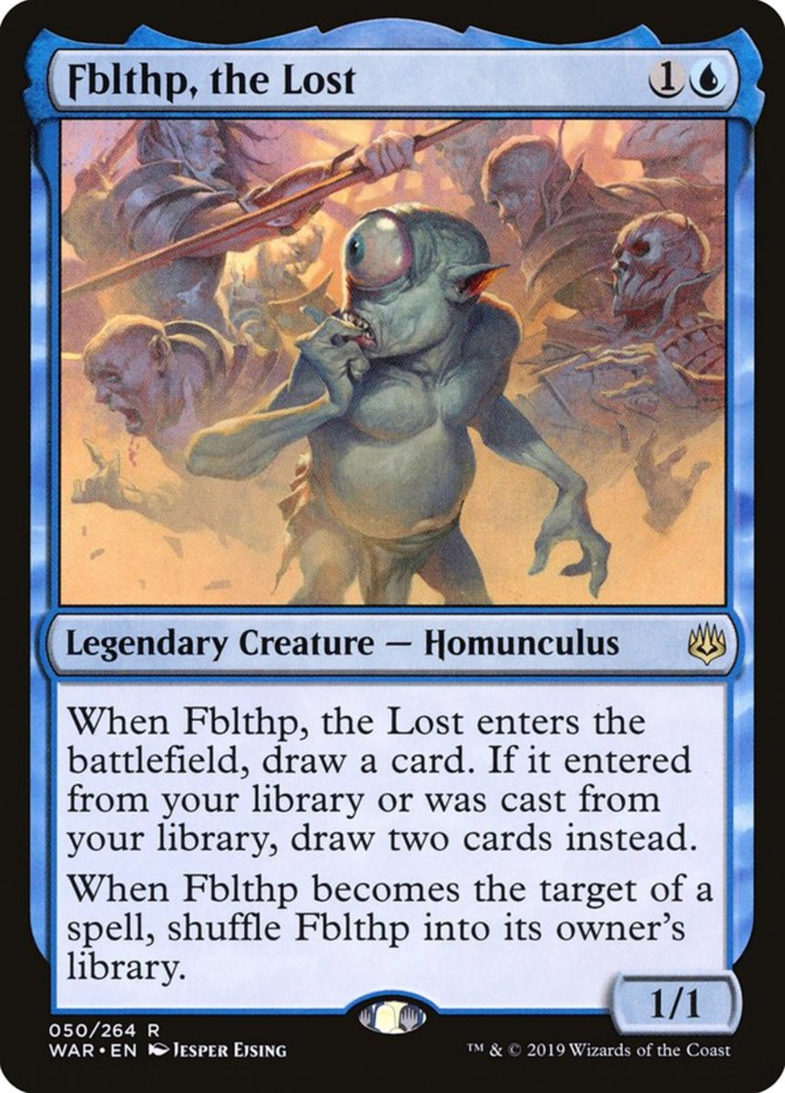 Fblthp, the Lost mtg