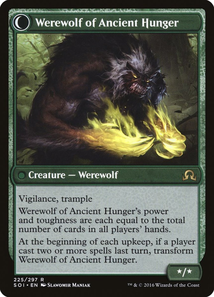 Werewolf of Ancient Hunger mtg