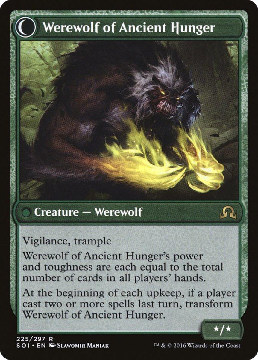 Werewolf of Ancient Hunger mtg