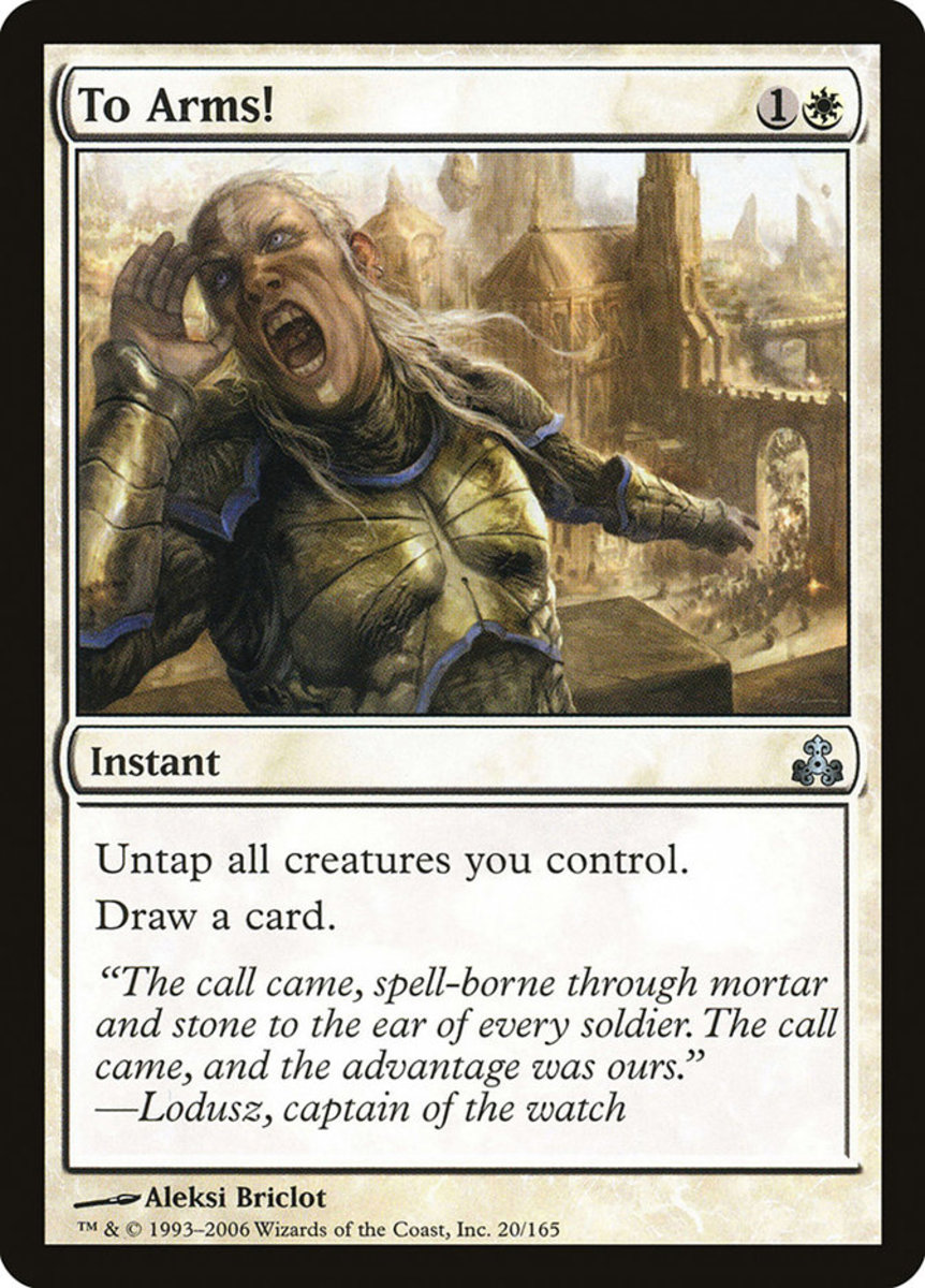 To Arms! mtg