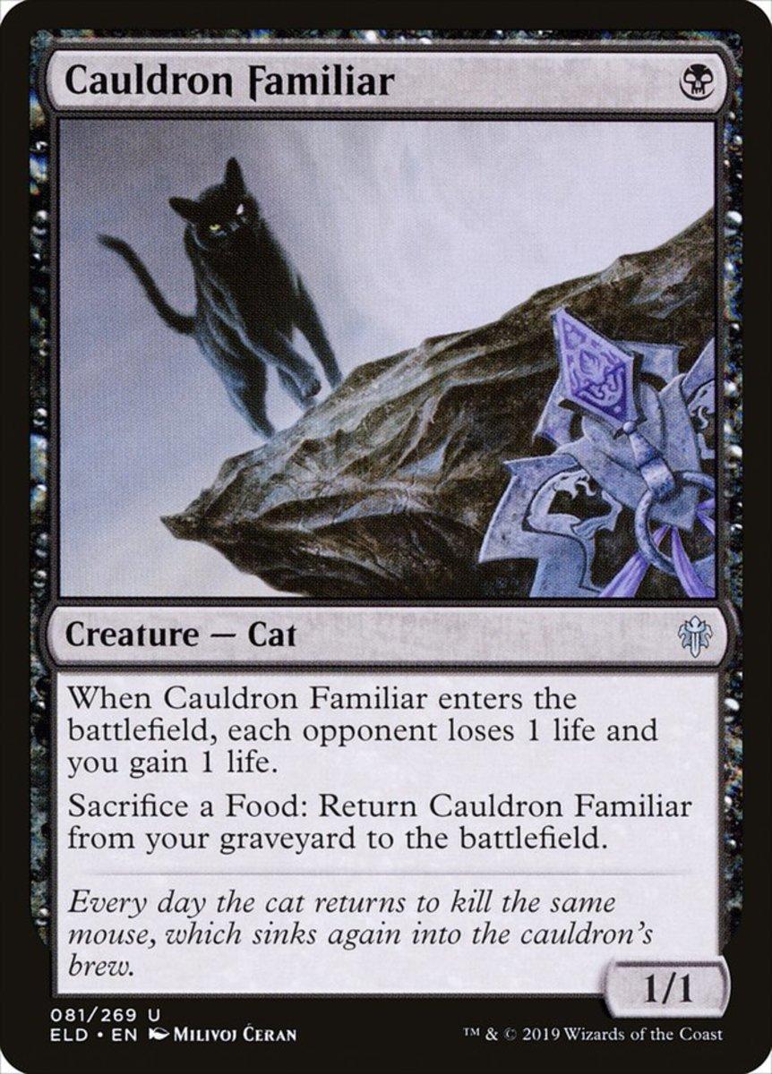Cauldron Familiar mtg