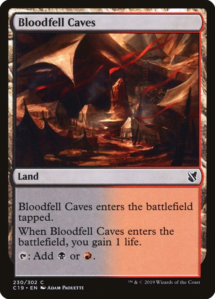 Bloodfell Caves mtg
