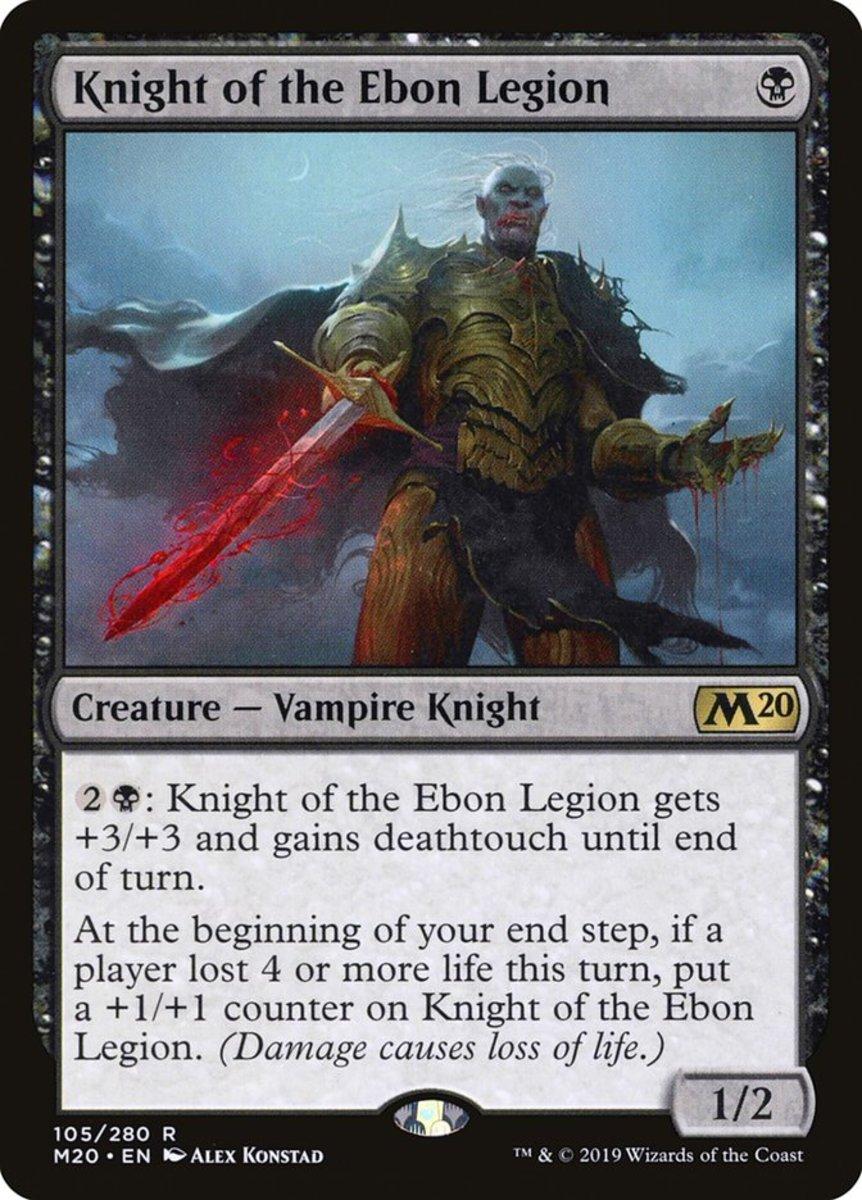 Knight of the Ebon Legion mtg
