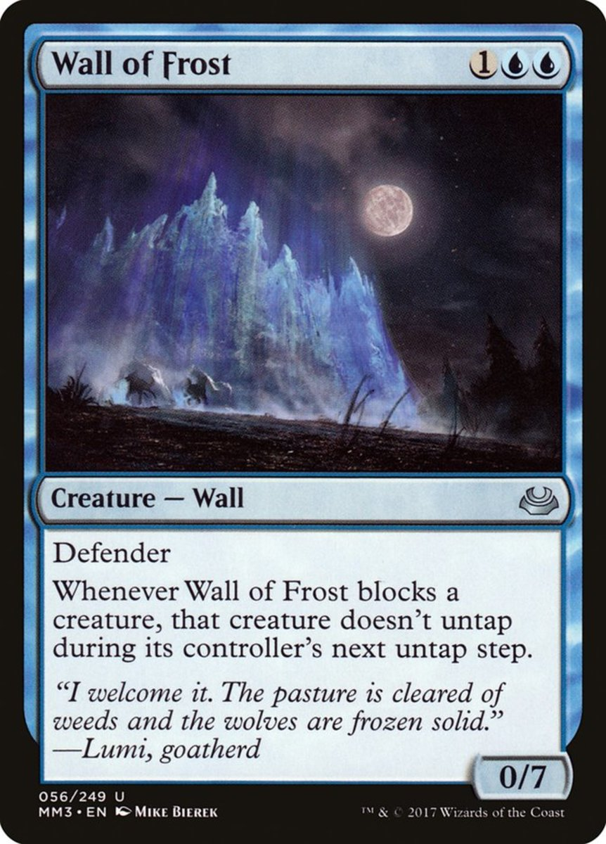 Wall of Frost mtg