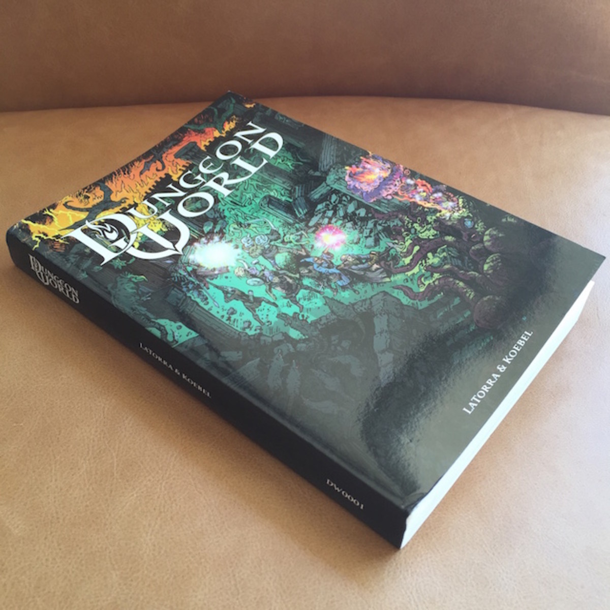 Dungeon World is written by Sage LaTorra and Adam Koebel