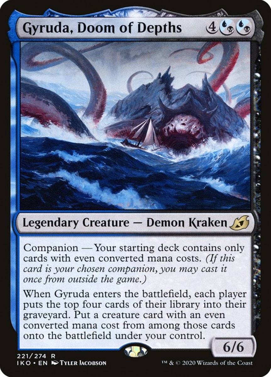 Gyruda, Doom of Depths mtg