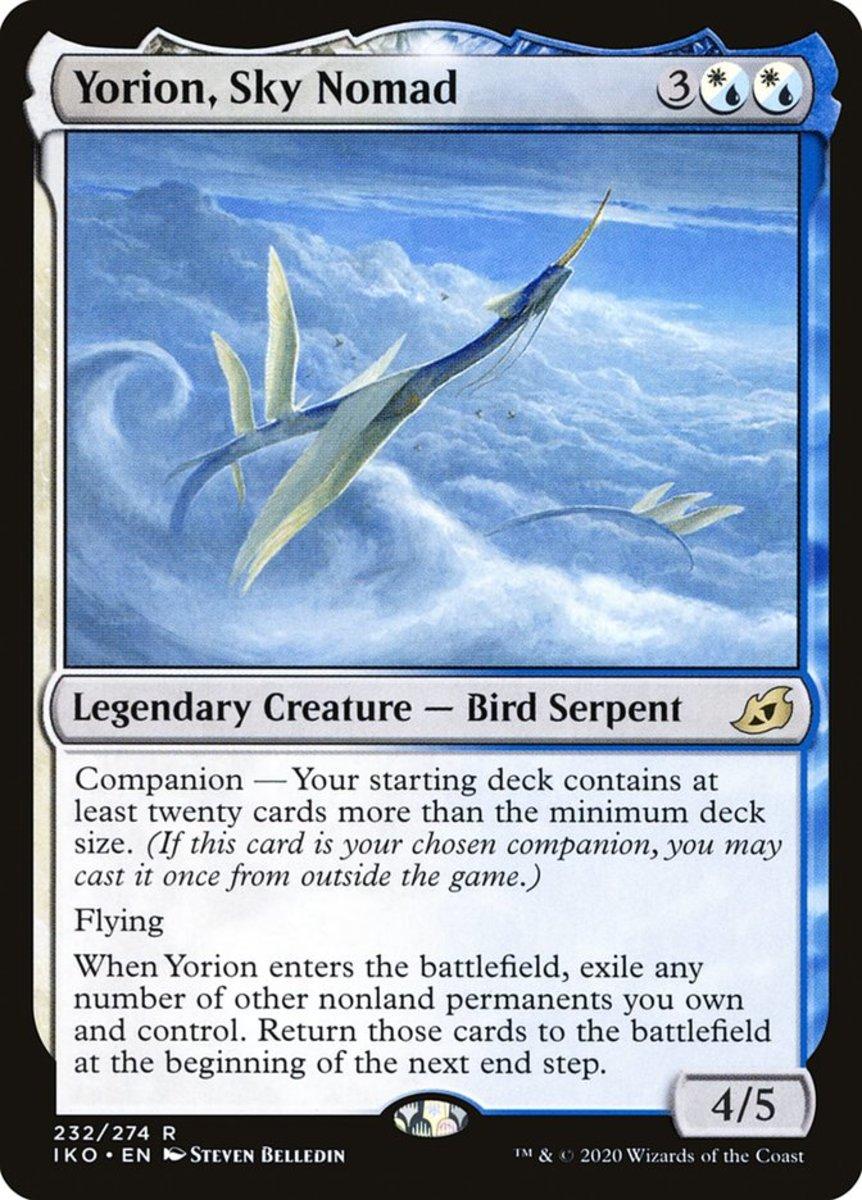 Yorion, Sky Nomad mtg