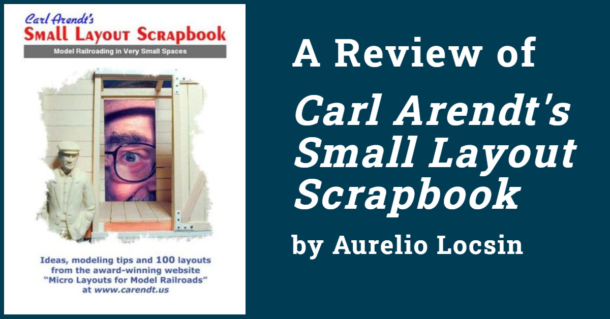 Small Layout Scrapbook by Carl Arendt: A Review